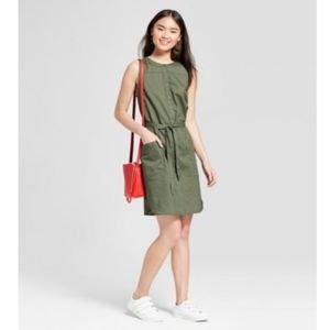 A New Day | NWT Sleeveless Linen Shirtdress